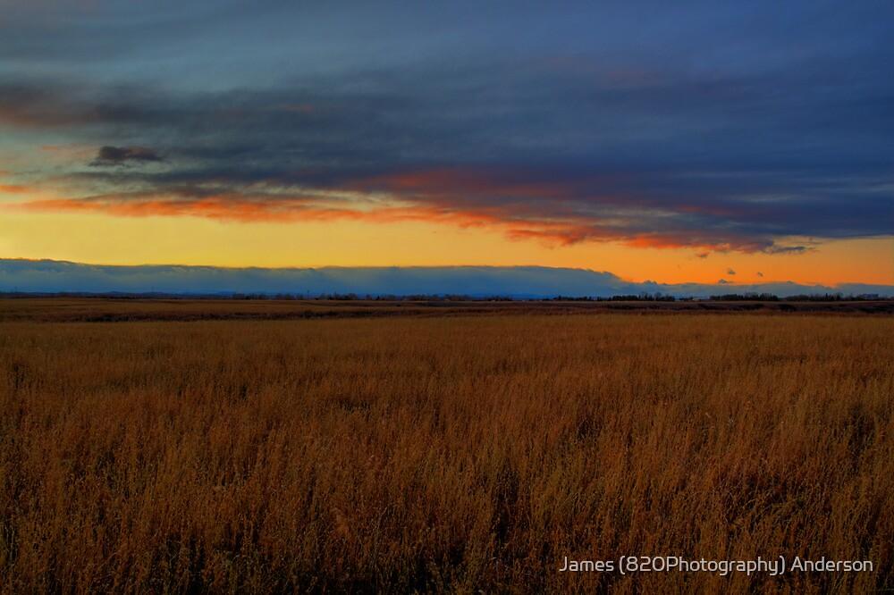 Prairie Twilight by JamesA1