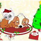 Christmas Gifts for Kitty And Pup too by aldona