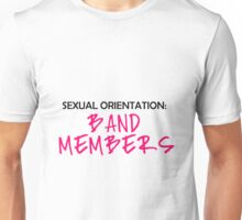 Sexual orientation - Band Members Unisex T-Shirt