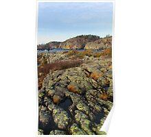 Pukaskwa National Park - Lake Superior - Heron Bay- Ontario Canada Poster
