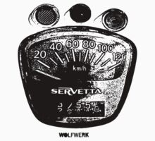 Lambretta Servetta Speedo T-Shirt
