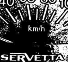 Lambretta Servetta Speedo Sticker