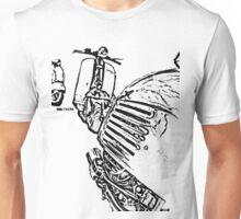 3 Vespa Scooters Unisex T-Shirt