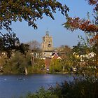 Diss Mere and Church by Darren Burroughs