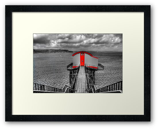 Tenby Lifeboat House by Steve Purnell