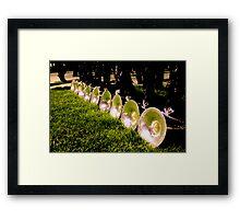 Horns, 2011 Framed Print