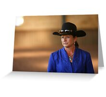 Grown up Cowgirl Greeting Card