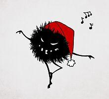 Evil Christmas Bug by Boriana Giormova