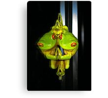 Narcissistic Frog... (Litoria Chloris) Canvas Print
