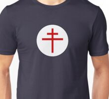 Free French Air Force - Historical Roundel Unisex T-Shirt