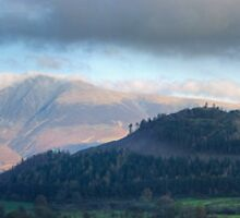 Lake District Views...Skiddaw from Newlands Valley by Jamie  Green