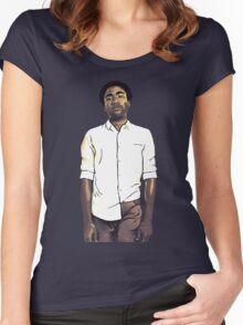 Childish Gambino / Donald Glover Women's Fitted Scoop T-Shirt