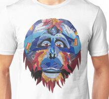Blue Urangutan Unisex T-Shirt