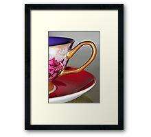 A Cup Framed Print