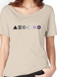 Asexual Pride (Polyhedral Edition) Women's Relaxed Fit T-Shirt