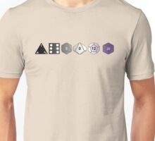 Asexual Pride (Polyhedral Edition) Unisex T-Shirt