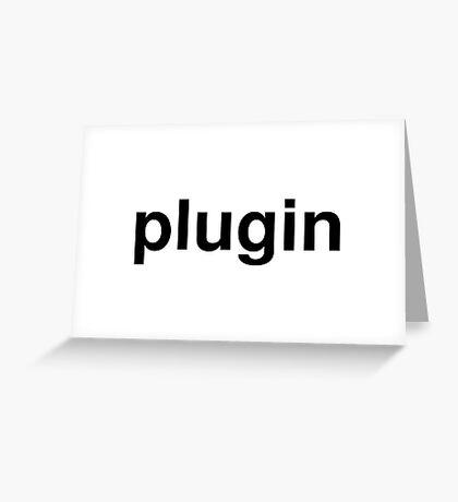 plugin Greeting Card