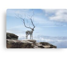 Sculptures by the Sea - The Deer Canvas Print