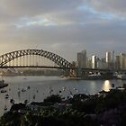 Sydney Silvery Morn by Anthony Ogle