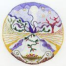 offering (intuitive embroidery) by Soxy Fleming