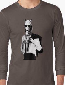 Punk Rock Horse Long Sleeve T-Shirt