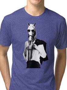 Punk Rock Horse Tri-blend T-Shirt