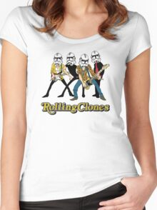 Rolling Clones Women's Fitted Scoop T-Shirt