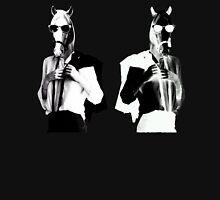 Punk Rock Horses Unisex T-Shirt