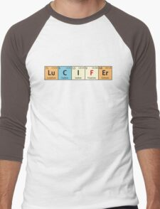 Lucifer - Periodic Table Men's Baseball ¾ T-Shirt