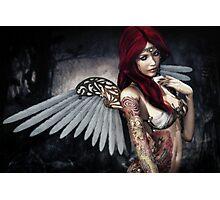 ~ Tattooed Angel ~ Photographic Print