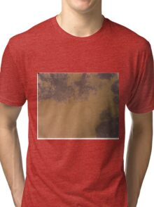 trees and clouds pinhole image Tri-blend T-Shirt