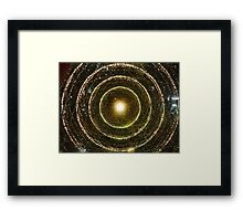 Fibre optics Framed Print