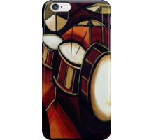 abstract drums iPhone Case/Skin
