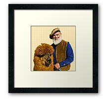 Furry Friends Framed Print