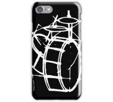 drums sketch iPhone Case/Skin