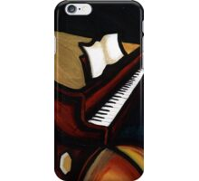 abstract piano iPhone Case/Skin