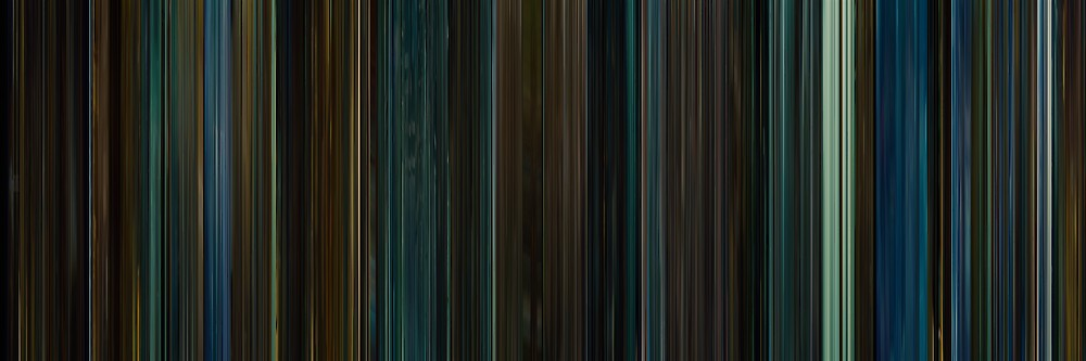 Moviebarcode: Attack the Block (2011) by moviebarcode