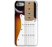 Sunburst Fender Stratocaster iPhone Case/Skin
