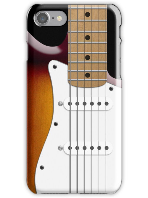 Sunburst Fender Stratocaster by abinning