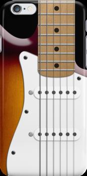 Sunburst Fender Stratocaster by Alisdair Binning
