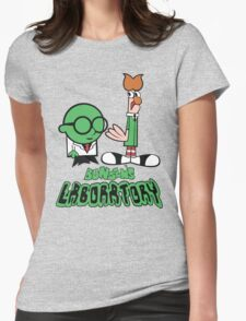 Bunsen's Laboratory Womens Fitted T-Shirt