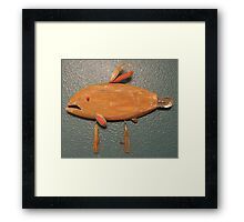 Key chain fish # 3 (SOLD) Framed Print