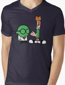 Bunsen's Laboratory (sans text) Mens V-Neck T-Shirt