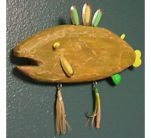 Key chain fish # 9 (SOLD) Photographic Print