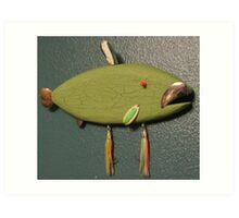 Key chain fish # 11 (SOLD) Art Print