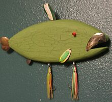 Key chain fish # 11 (SOLD) by Fred Weiler