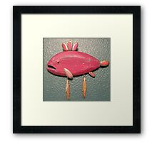 Key chain fish # 12 (SOLD) Framed Print