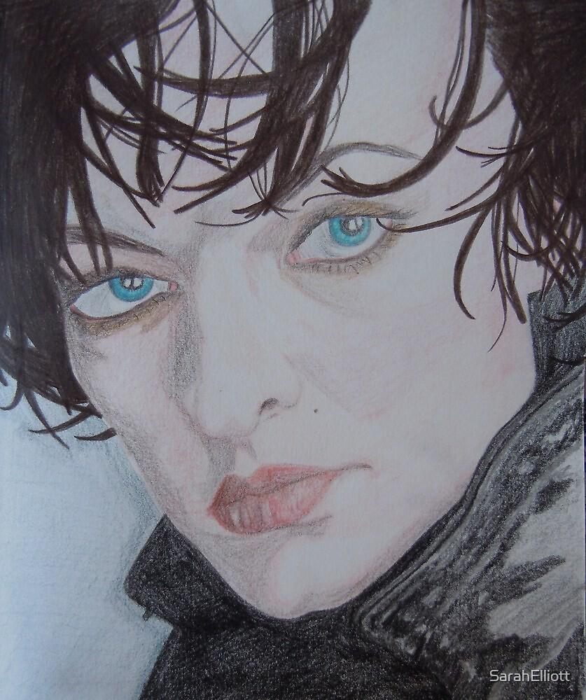Milla Jovovich by SarahElliott