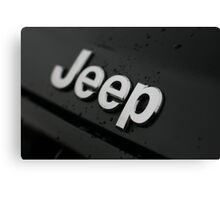 EXTREME WATER REPELLENT - JEEP!! Canvas Print