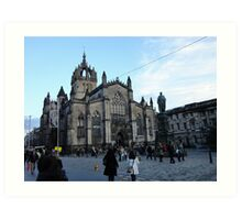 St Giles Edinburgh Art Print